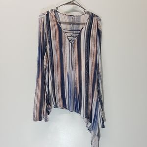 Jenifer Lopez Long Sleeve Top Size L